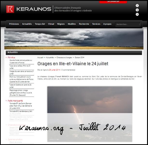 keraunos juillet 2014